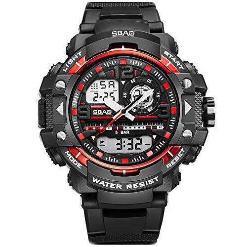 ccaaef2cc72a SBAO Men s Sports Digital Business Fashion Outdoor Climbing Waterproof  Watches Multifunctional Wristwatches