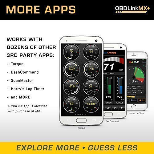 OBDLink MX+ Bluetooth OBD2 Scan Tool