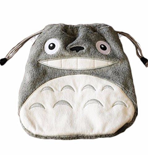 rare Schultertasche Tasche Shoulder Bag Rucksack reisetaschen Grau Katze Plush totoro new