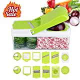 Kithouse Vegetable Chopper Mandoline Slicer - Onion Chopper Food...