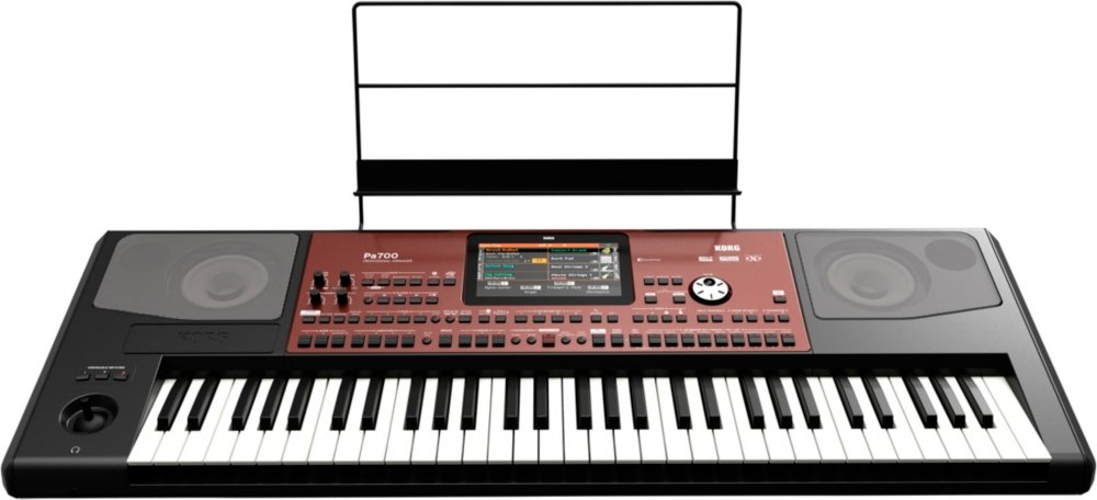 Amazon.com: Korg Pa700 Professional Arranger 61-Key with Touchscreen and Speakers Black: Musical Instruments