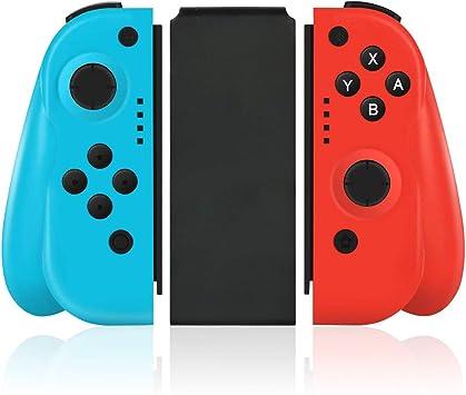 Controlador inalámbrico para Mando de Nintendo Switch, Repuesto Joy con con Mango ergonómico rediseñado cómodo de Mano Gamepad Joy-con Mando a Distancia: Amazon.es: Electrónica