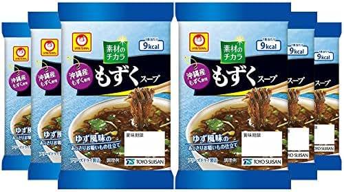3.6gX6 pieces Maru-chan Okinawa Mozuku soup