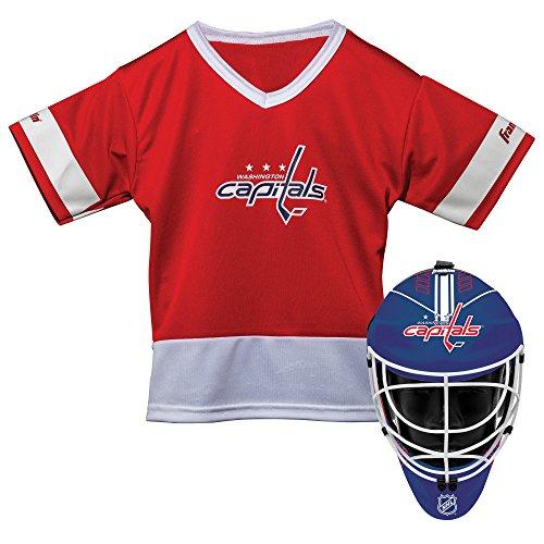 Franklin Sports NHL Washington Capitals Youth Team Uniform Set, Red, One Size