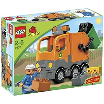 Amazon Com Lego Duplo 10519 Garbage Truck Toys Amp Games