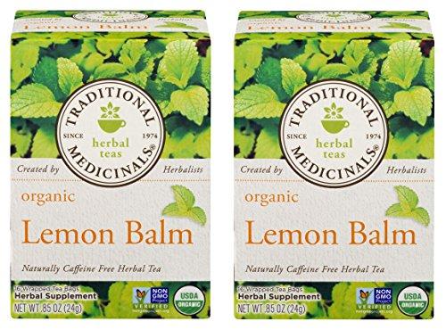 - Traditional Medicinals Tea Lemon Balm Org ( 2 Pack)