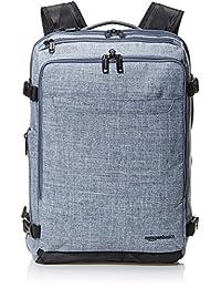 AmazonBasics Mochila para equipaje de mano, profesional, fin de semana, mezclilla