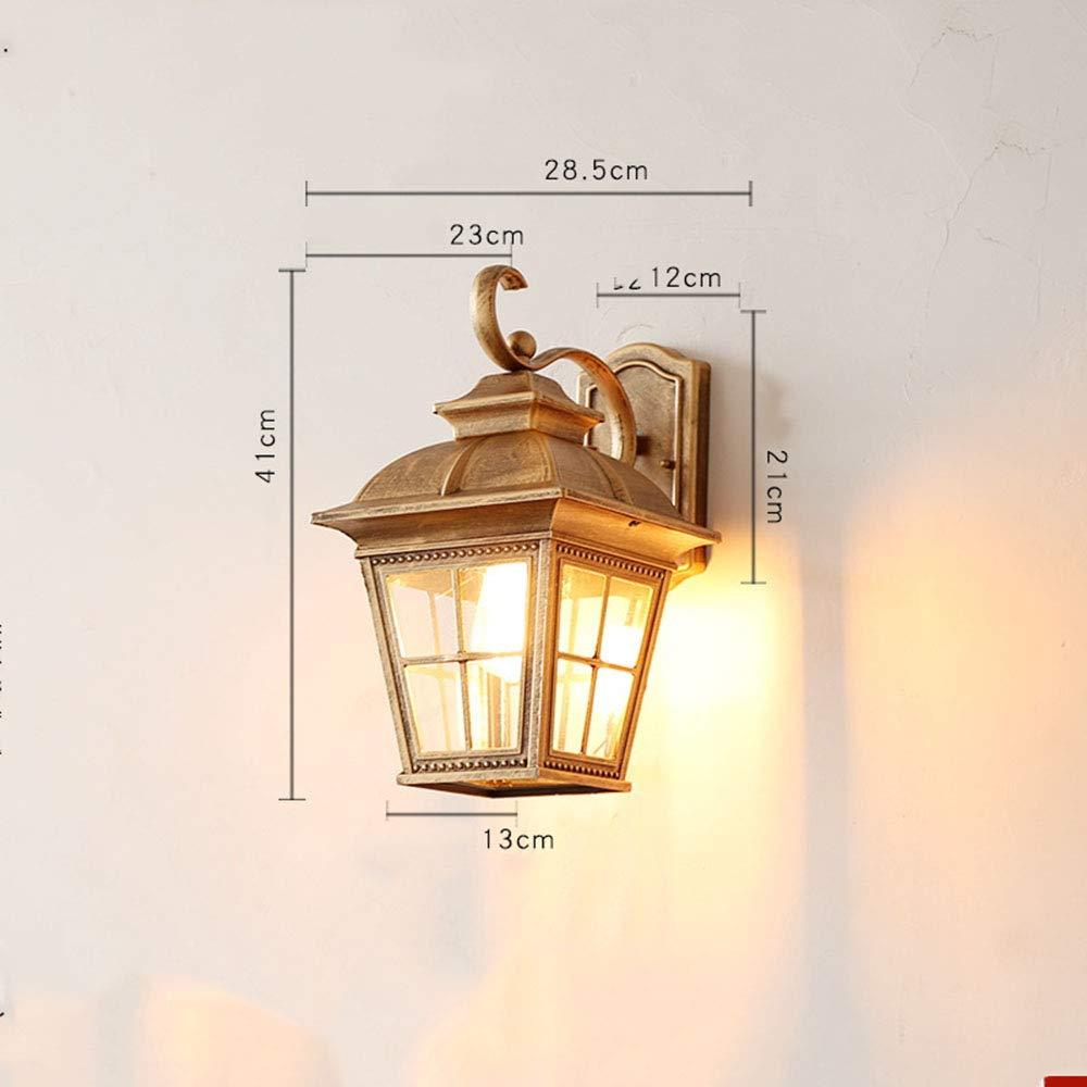 BHGFRED Lampada da Parete per Esterni, Lampada da Parete Impermeabile Lampada da Soffitto per Interni in Alluminio E da Giardino