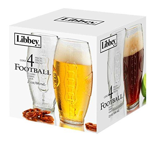 Football beer glasses -
