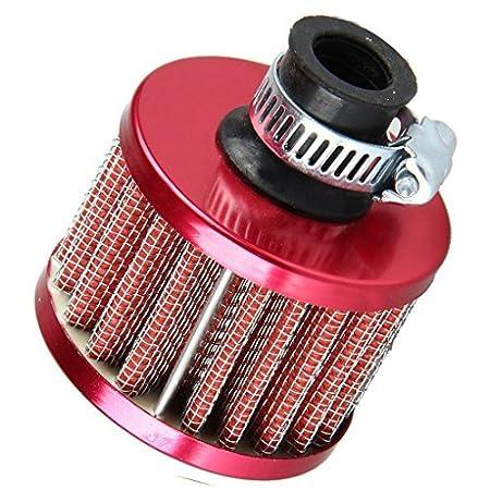 Filtro de aire frí o de 13 mm para ventilació n del motor del automó vil Mengonee