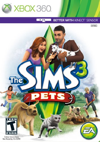 The Sims 3: Pets - Xbox 360 (Bug Breed)
