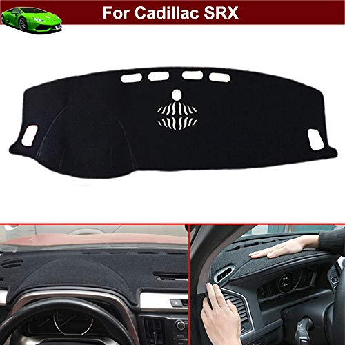 Cadillac Srx Dash - New 1pcs Black Non-Slip Dash Mat Dashboard Mat Dash Carpet Dash Covers Dashboard Cover Custom Fit for Cadillac SRX 2010 2011 2012 2013 2014 2015 2016 2017 2018 2019 2020