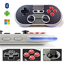 NES30 pro game controller, YIKESHU Pro Game Controller Wireless Bluetooth Controller Dual Classic Joystick for Switch/Android/Gamepad PC/Mac