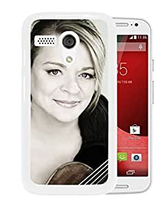 Beautiful Designed Cover Case With Angele Dubeau Girl Violin Chest Smile (2) For Motorola Moto G Phone Case