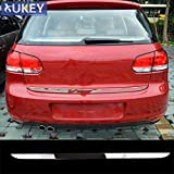 Daphot-Store - For VW Golf 6 MK6 Hatch 2009-2012 Chrome Rear Trunk Door Cover Tail Gate Trim Boot Hatch Garnish Moulding Styling Sticker