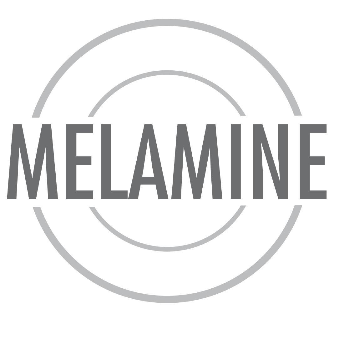 Black 8 Kristallon DP146 Curved Melamine Bowl