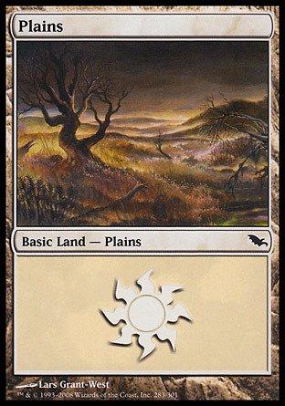 Magic: the Gathering - Plains (283) - Shadowmoor - Foil