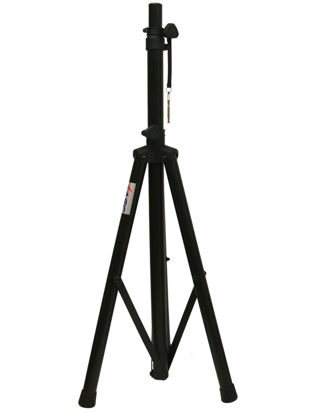ASC Pro Audio Mobile DJ PA Speaker Stand Lighting 6 Foot Adjustable Height Tripod