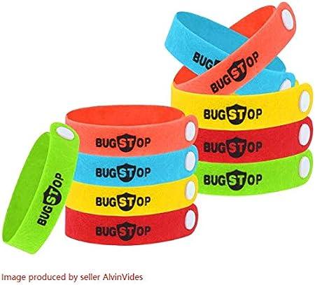 Amazon Com Itechshop Mosquito Repellent Bracelets 10pcs 100