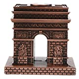 MagiDeal Vintage Triumphal Arch Famous Landmark Building Architecture Model Metal Collectible Souvenir Decorative Gift
