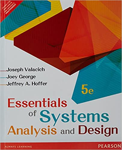 Essential of Systems Analysis and Design
