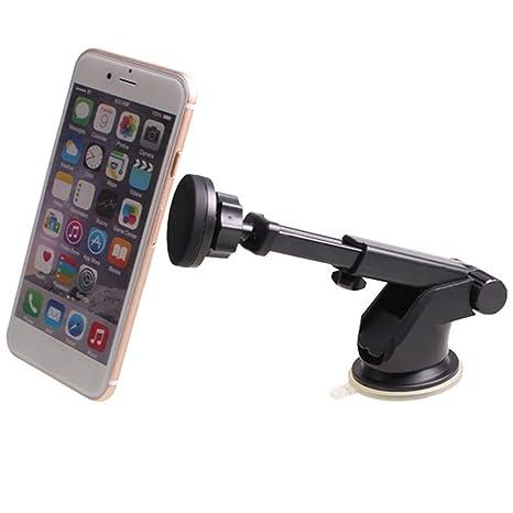 Prom-near Soporte Movil Coche Soporte Magnético para Coche Salpicadero para Smartphone y Dispositivo GPS