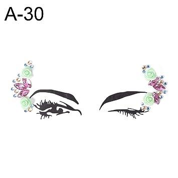 8a1dac81288 Amazon Com 1pc Christmas Makeup Xmas Decor Diy Eyebrow Art