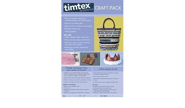 38,1 x 45,7 cm Entretela para manualidades C/&T Publishing Timtex
