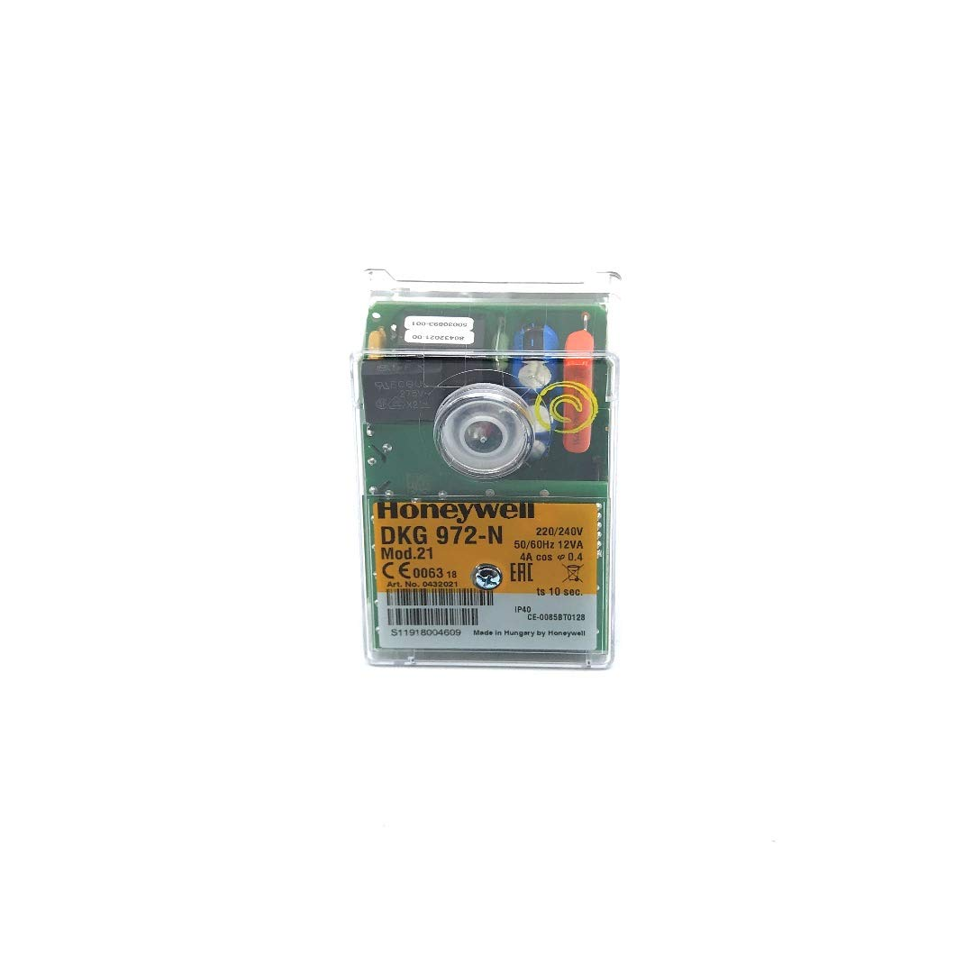 Control Box SATRONIC DKG 972-N Mod 21 Honeywell Code 0432021 Qnnel.com