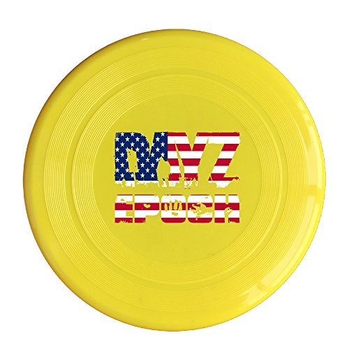 AOLM Video Game Outdoor Game Frisbee Light Up Flying Yellow