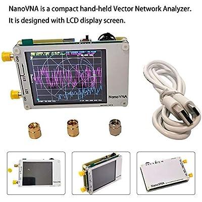 rowna Vector Network Analyzer, 150g 2.8? TFT USB Type-C Antenna Detector for NanoVNA