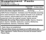 Vital Earth Minerals Fulvic Minerals - 32 Fl. Oz. 2 Pack! - One Month Supply (Each) Vegan Liquid Trace Mineral Multimineral Supplement - Almost Tasteless - Whole Food Plant-Based Ionic Minerals