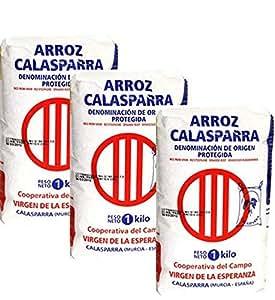 Calasparra Rice Arroz Calasparra 3 Pack 1 kilo each (35.2 oz each)