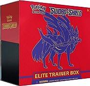 Pokemon TCG: Sword & Shield Elite Trainer Box - Zacian | Genuine Cards, Multicolor