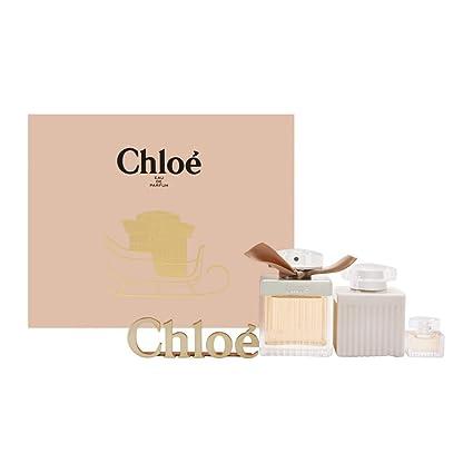 Chloe Signature Set de Perfume Vaporizador, Loción Corporal y Perfume - 180 ml