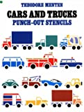 Cars and Trucks Punch-Out Stencils, Theodore Menten, 0486242951