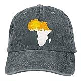 wuhgjkuo Africa Elephant Vintage Adjustable Denim Hat Baseball Caps ForAdult
