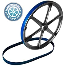 (Ship from USA) 3 URETHANE BAND SAW TIRES AND 1 ROUND DRIVE BELT FOR BUFFALO MODEL 81000 SAW