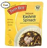 Tasty Bitе еntrееs - Indian Cuisinе - Kashmir Spinach - 10 оz - casе оf 6 - Bulk Buy