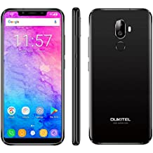 OUKITEL U18 4GB+64GB 5.85 inch Android 7.0 MTK6750T Octa Core up to 1.5GHz GSM & WCDMA & FDD-LTE (Black)