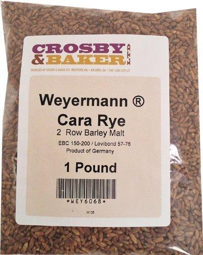 Rye Malt - Weyermann Cara Rye Malt 1 Lb.