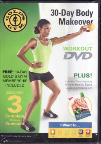 Gold Gym 30 jours Body Makeover DVD