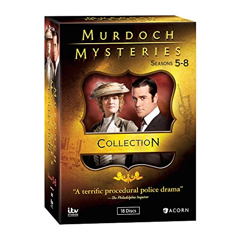 Murdoch Mysteries Collection: Seasons 5-8 - DVD -  Cal Coons, Yannick Bisson