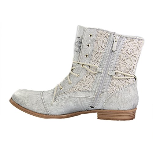 Mustang Bottes 527 silber Argent Classiques 1157 Femme FF6Exqzr