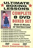 ''Ultimate Boxing Lessons'' COMPLETE 8 DVD BOXED SET, Starring Boxing Coach Christopher Getz