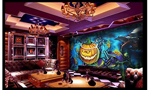 Wall Decoration Art Wall Painting -Halloween Pumpkin Head