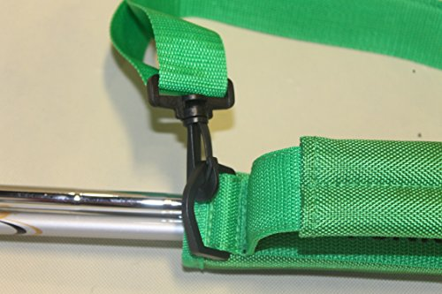 A99 Golf C12 Funky Caddy Golf Bag Driving Range Carrier Sleeve Light with velcro Red by A99 Golf (Image #2)
