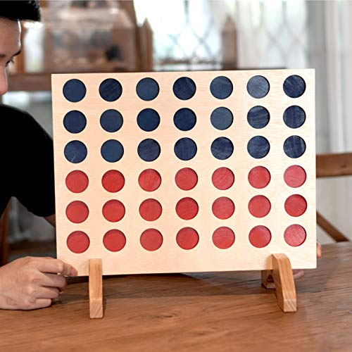 Connect Four Outdoor Game for Kids and Family Board Games 3D Travel of Living Room Decor and Coffee Top Table Games Decor Family Games Night Classic Board TicTacToe