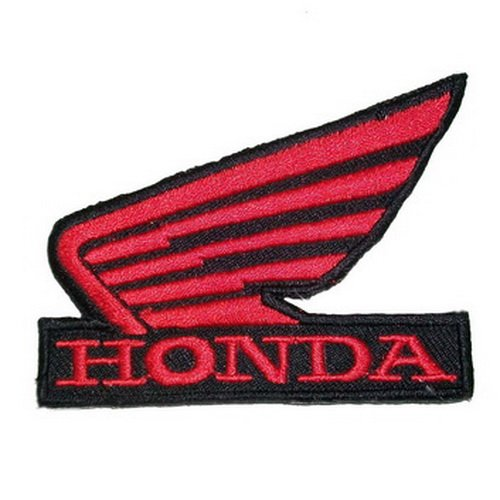 Honda Red Wing Patch Motorcycle Biker Patch Logo Vest Jacket Hat Hoodie Backpack Patch Iron (Honda Logo Patch)