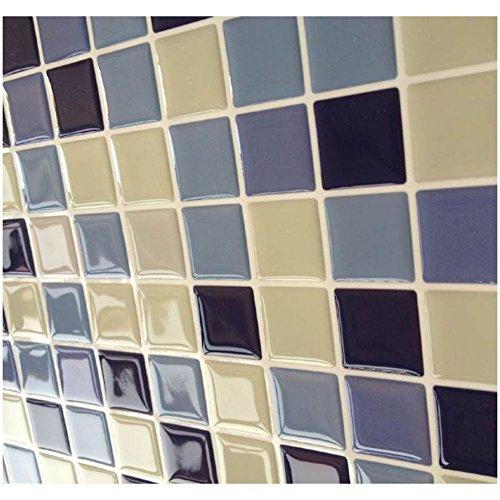 Tile & sticker   autoadhesivo decorativo para pared, 3d, efecto ...